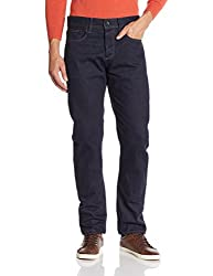 Superdry Mens Relaxed Fit Jeans (5054265624131_M70001KNF4_32W x 32L_Raw Rinse)