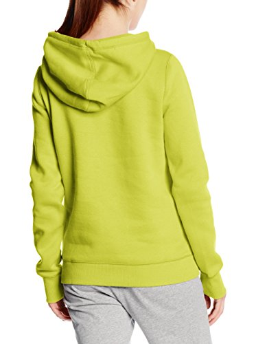 Under Armour Damen Fitness Sweatshirt Rival Cotton Storm P/O Hoody Gelb