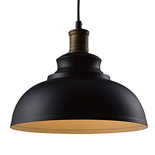 BAYCHEER de la Industria lámpara de techo de metal negro altura ajustable