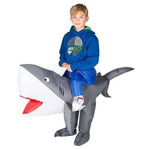 Bodysocks® Aufblasbares Hai Kostüm für Kinder
