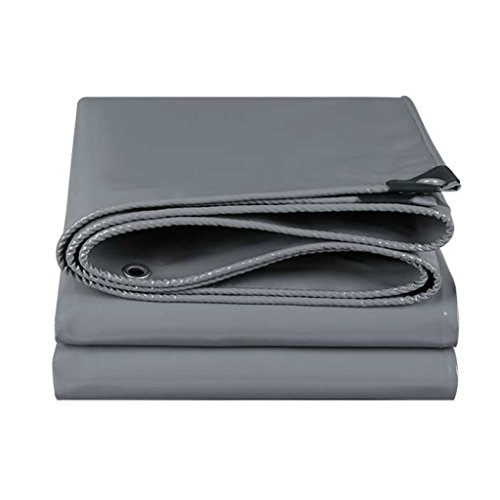 Li Li Na Shop Tela de cuchillo gris lona de lluvia Tela de lona grande lona impermeabilizante lona impermeable (Color : Gray, Size : 300cm*300cm)
