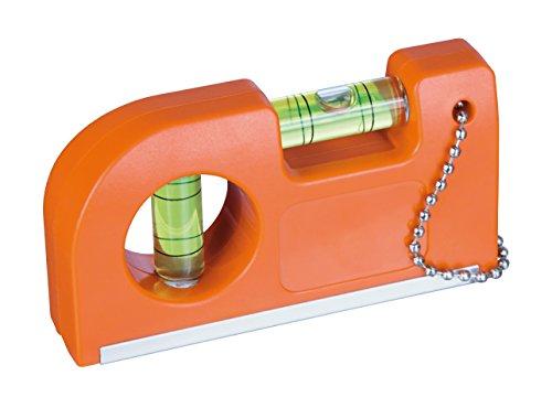 Wasserwaage mit Magnet und Clip 2er-Set