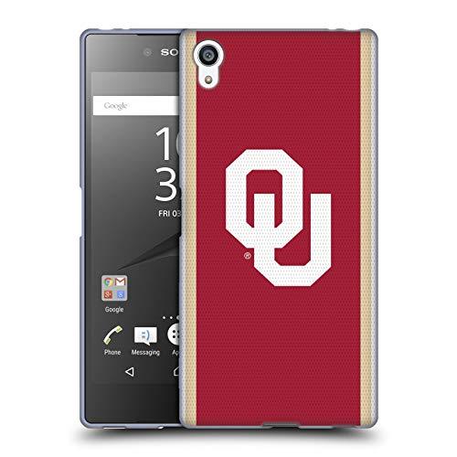 Head Case Designs Offizielle University of Oklahoma OU Football Jersey Soft Gel Huelle kompatibel mit Sony Xperia Z5 Premium/Dual