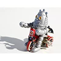 Retro Musical Tin Toy Baby Robot on Tricycle Retro Clockwork Toy