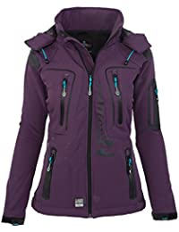 Geographical Norway - Chaqueta multifunción softshell impermeable para mujer