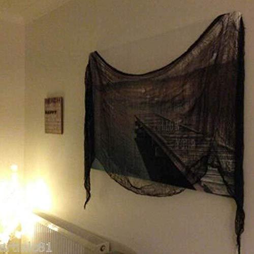 dryujdytru Nützlich Mode Textil Gewebt Verbandsmull Baumwolle Dünn Gitter Halloween-Dekoration mit Gaze für Wohndeko - Farben