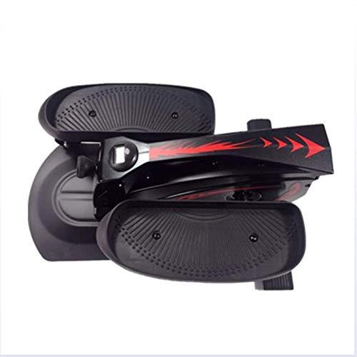 DRLGC Multifunktions-Stepper, tragbarer Treppensteiger für zu Hause, Mini-Fitnessgeräte, Maschine mit dünner Taille, elliptischer Jogger, geräuschlose Gewichtsregulierung