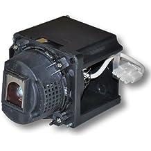 Alda PQ Original, Lámpara de proyector para HP VP6311 Proyectores, lámpara de marca con PRO-G6s viviendas