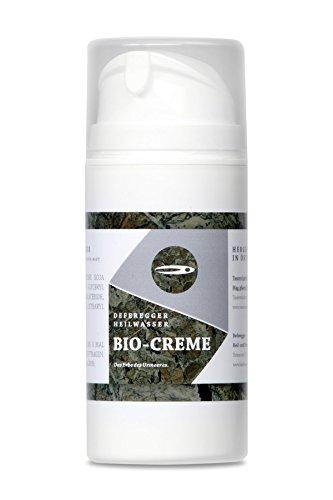 Anwendung bei Schuppenflechte, Psoriasis und Neurodermitis - Deferegger Heilwasser Bio Creme 1er Pack (1 x 100ml)