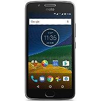 Moto G 5ª Generación - Smartphone libre Android 7 (pantalla de 5'' Full HD, 4G, cámara de 13 MP, 3 GB de RAM, 16 GB, Qualcomm Snapdragon 1.4 GHz), color gris