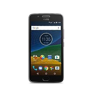 Lenovo Moto G5 Smartphone débloqué 4G [Version Espagne] (Ecran: 5 pouces - 3Go RAM - 16 Go - Nano-SIM - Android) Gris
