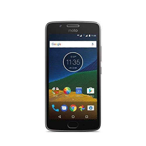 Moto G 5ª Generación - Smartphone Libre Android 7 (Pantalla de 5'' Full HD, 4G, cámara de 13 MP, 2 GB de RAM, 16 GB, Qualcomm Snapdragon 1.4 GHz), Color Gris#source%3Dgooglier%2Ecom#https%3A%2F%2Fgooglier%2Ecom%2Fpage%2F%2F10000