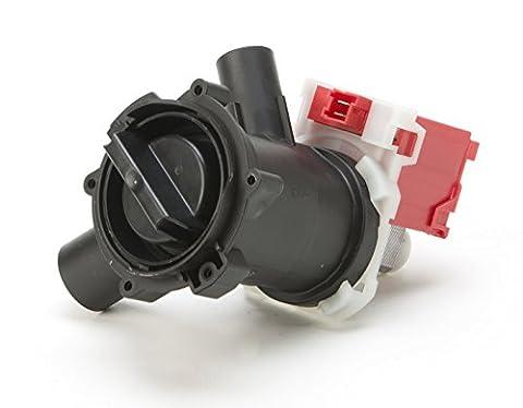 DREHFLEX® - Laugenpumpe / Pumpe / Abwasserpumpe passend für diverse Waschmaschine von Bosch / Siemens / Constructa / Koenic - passend für Teile-Nr. 00144192 / 144192