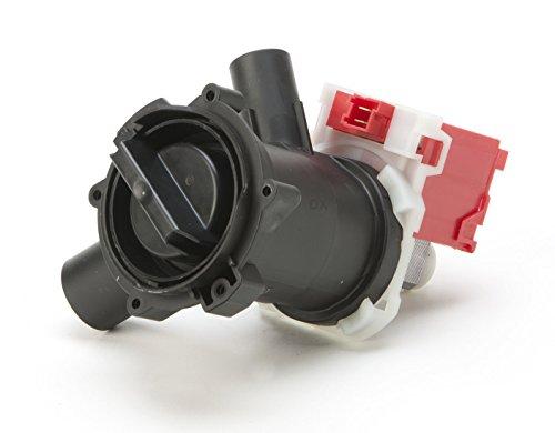 DREHFLEX® - Laugenpumpe / Pumpe / Abwasserpumpe passend für diverse Waschmaschine von Bosch / Siemens / Constructa / Koenic - passend für Teile-Nr. 00145905 / 145905 ersetzt 00144192 / 144192