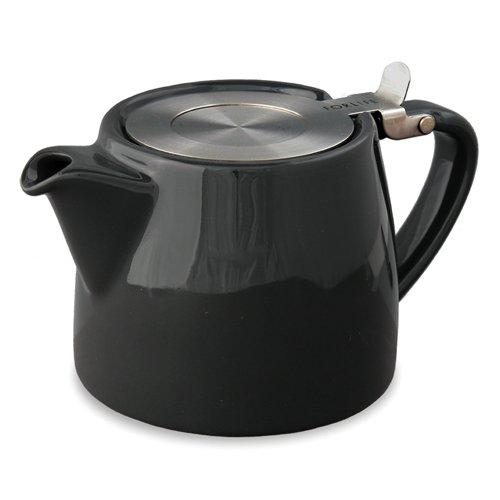 Théière passe thé STUMP 40 cl - Noir