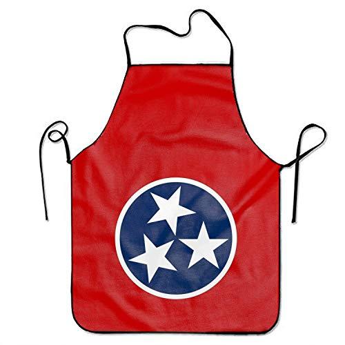 LarissaHi Flagge von Tennessee Schürze Benutzerdefinierte Grillschürzen Küchenschürzen für Frauen Männer (Benutzerdefinierte Kostüm Frauen)