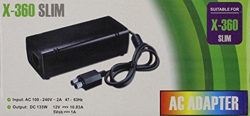 Xbox 360 Slim AC Adapter AC 100-240V 2A 47-63Hz