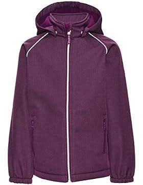 Name it 13139338 Nitalfa Softshell Jacke Regenjacke Allwetterjacke Dark Purple Gr. 140