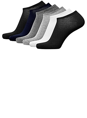 oodji Ultra Homme Chaussettes (Lot de 6), Multicolore, FR 40-43 / one siz