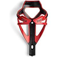 Tacx Technische Industrie T6154.06 - Portabidón de ciclismo, color negro y rojo