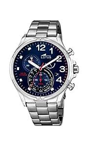 Lotus - 10126/3 - Montre Homme - Quartz - Chronographe - Chronographe - Bracelet Acier inoxydable argent