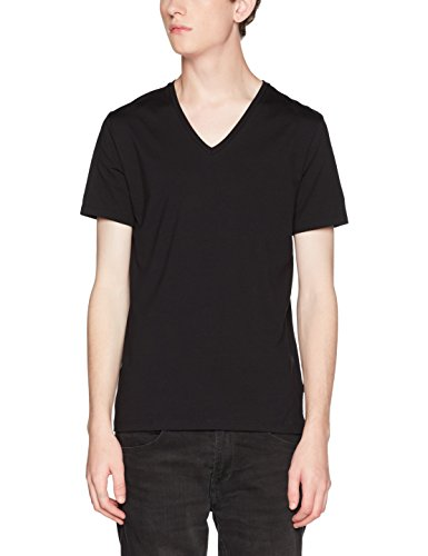 BOSS Herren VN Signature T - Shirts, Schwarz (Black 001), Medium -