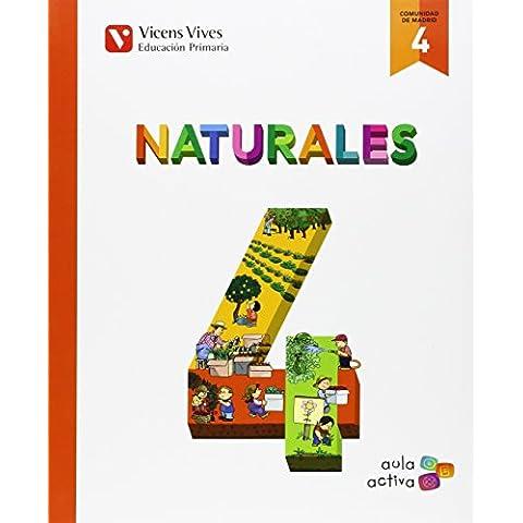 Naturales 4 Madrid (aula Activa)