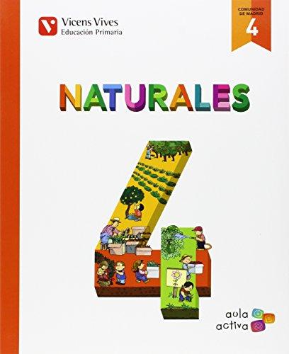 Naturales 4 Madrid (aula Activa) - 9788468228907
