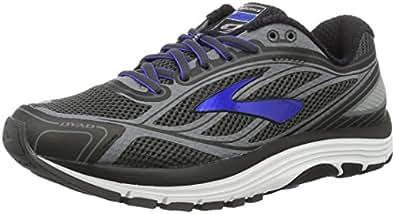 Brooks Men's Dyad 9 Training Running Shoes, Black (Schwarz/Grau/Blau), 7 UK