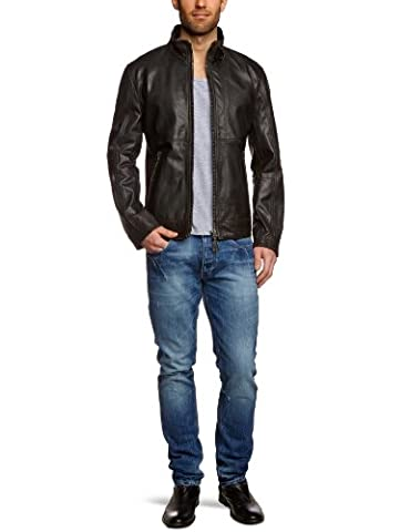 Strellson Sportswear Herren Jacke Faith-3 140001, Gr. 46, Schwarz (schwarz 110)
