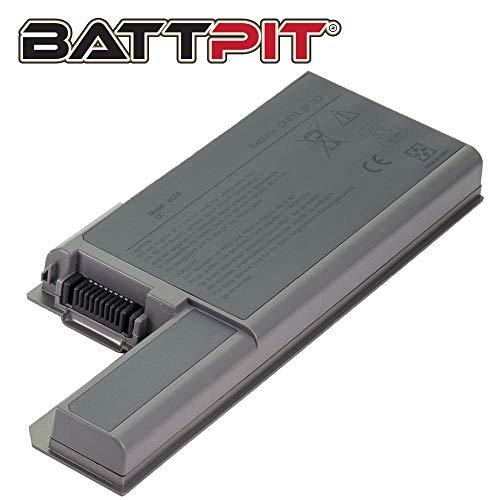 Battpit Laptop Akku für Dell CF623 DF192 Latitude D531 D820 D830 Precision M65 M4300 - [9 Zellen/6600mAh/73Wh] (Akku D830 Latitude)
