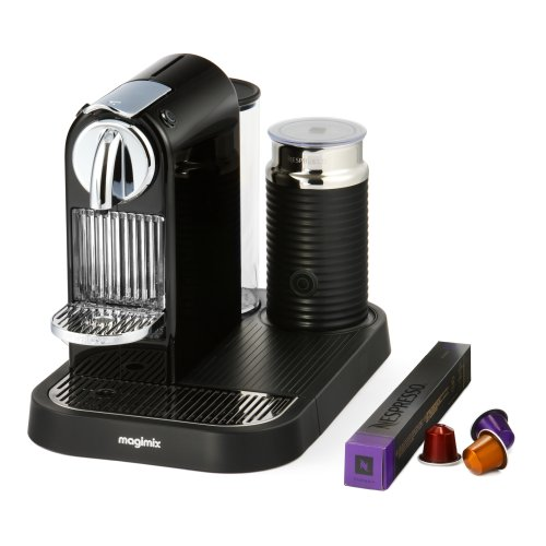 A photograph of Magimix Nespresso Citiz and Milk