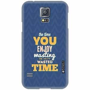 Printland Designer Back Cover for Samsung Galaxy S5 - Enjoy Case Cover