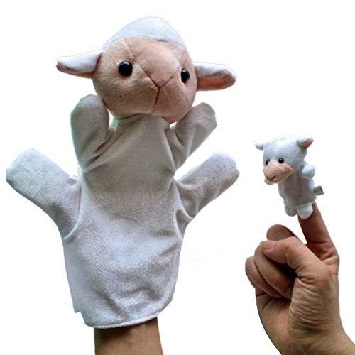 Gazechimp 2pcs Conjunto De Marionetas Manos Dedos