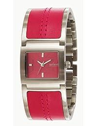 Axcent of Scandinavia Axcent of Scandinavia - Reloj analógico de cuarzo para mujer con correa de acero inoxidable, color morado