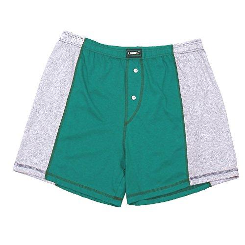 3er Pack Herren Boxershorts in Übergröße Nr. 395 - Farben und Muster können variieren (10, Mehrfarbig) - 2