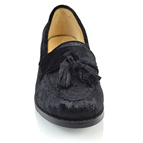 Essex Glam Mocassino Donna Pelle Sintetica Nero Patentato