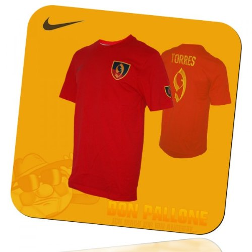 Nike T-shirt Spain #9 Hero Fernando Torres Furia Roja