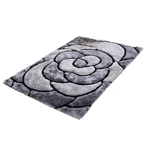 wohnzimmer-schlafzimmer-turmatten-couchtisch-teppich-grau-polyester-material-blutenblatt-muster-rech