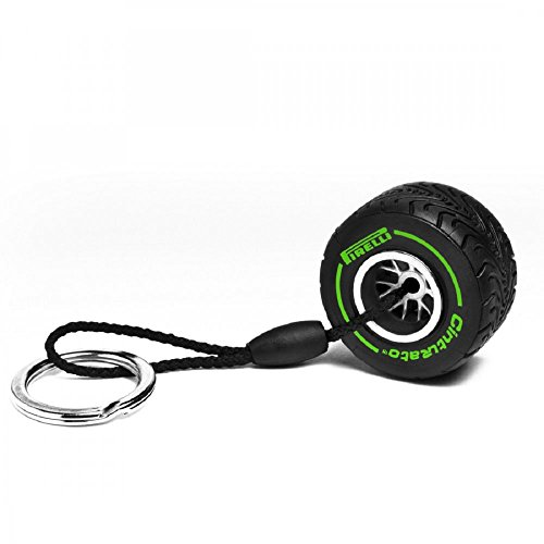 pirelli-intermediate-tyre-keyring-green