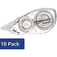 Amazon Basics - Correttore a nastro, 4,2 mm x 10 m, confezione da 10