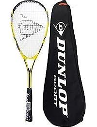 Dunlop Nanomax Lite Squash Raquette + Transport Étui