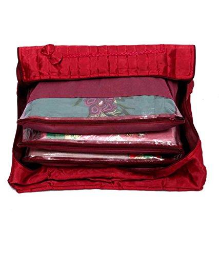 Kuber Industries™ 12 Sarees bag, saree cover, 1 bag for keeping 12...