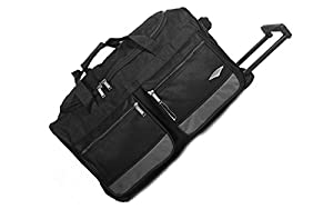 """All Bags 40"""" LARGE WHEELED HOLDALL SUITCASE LUGGAGE TRAVEL DUFFLE BAG 240Litres"""