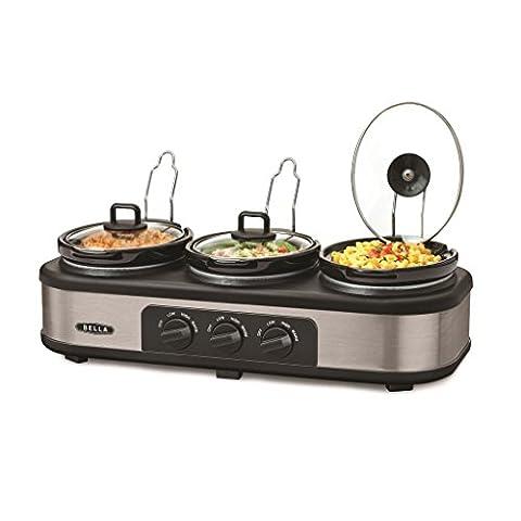 Bella Triple Slow Cooker & Server