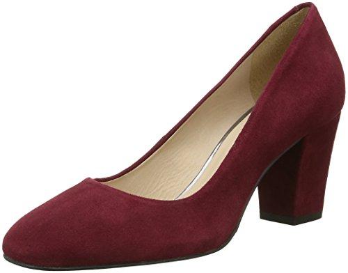 Jb Martin1 Rachele - Scarpe con Tacco Donna , Rosso (Rouge (Chevre Velours Rosso)), 40