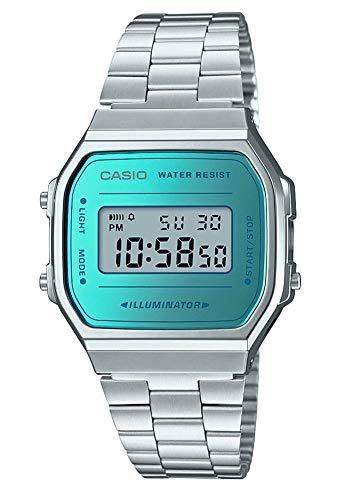 CASIO Unisex Watch A168WEM-2EF Best Price and Cheapest