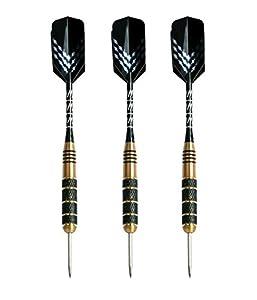 Darts mit Stahlspitze (3er-Set) von Signature Sports - 23 g |...
