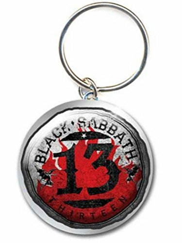 Black Sabbath 13 Thirteen Merchandise portachiavi