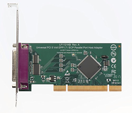 Axxon LF1121KB Universal PCI PlasmaCam Controller Card with IEEE 1284 10' Parallel Cable